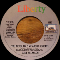 Susie Allanson - Love Is Knockin' At My Door (Here Comes Forever Again)