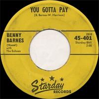 Benny Barnes - Poor Old Me