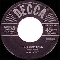 Red Foley* Rambling Red Foley - The Lone Cowboy / Single Life Is Good Enough For Me