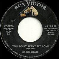 Roger Miller Dang Me Got 2 Again