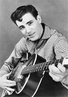 """1958 Singer JIMMIE RODGERS on TELEVISION Photo /""""HONEYCOMB/"""" NEW EXCLUSIVE 01"""