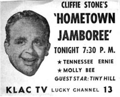 Image result for hometown jamboree 1952 tv show